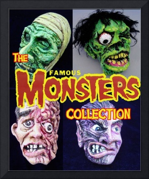 The FAMOUS MONSTERS Collection of Resin Kits