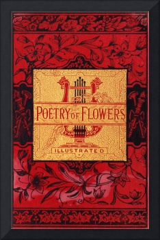 Poetry of Flowers book cover, 1881 anthology