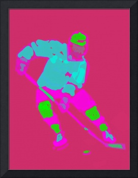 Hockey Left Wing pink purple green (c)