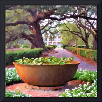Oak Alley Plantation Sugar Pot