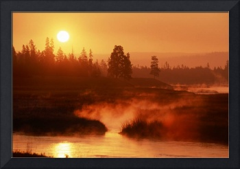 Madison River Sunrise