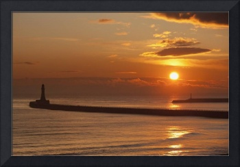 Sunderland, Tyne And Wear, England A Lighthouse A