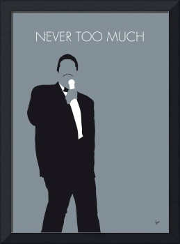 No287 MY Luther Vandross Minimal Music poster