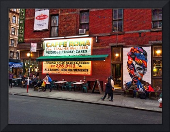 Wall in Little Italy, New York