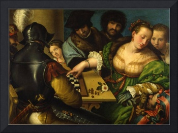 Giulio Campi~The Game of Chess