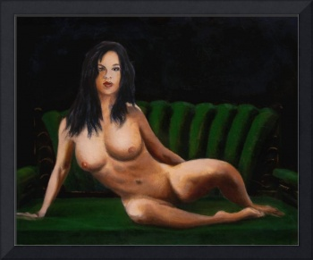Fine Art Female Nude Sara Seated 2011