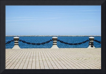 Cleveland Harbor Chained