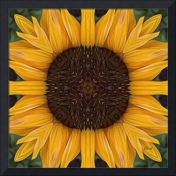 Folk Art Sunflower