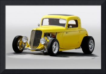 1933 Ford HiBoy Coupe