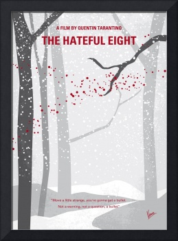 No502 My Hateful eight minimal movie poster