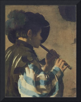 The Flute Player (1621)