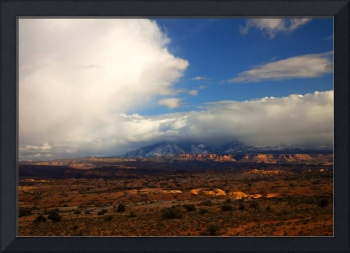 Storm over the La Sals
