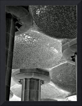 Gaudi Tiled Ceiling, Parc Guell, Barcelona