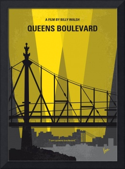 No776 My Queens Boulevard minimal movie poster