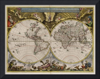 World Map1664