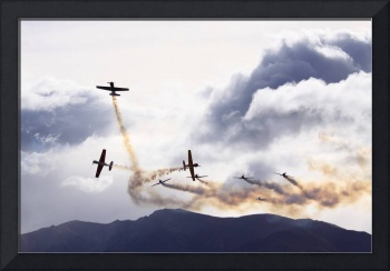 Yak 52 Display Team Warbirds Over Wanaka 2010 NZ