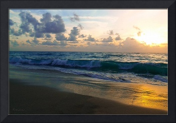 Treasure Coast Florida Sunrise Seascape C3