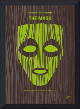 No647 My The Mask minimal movie poster