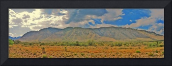 Texas Guadalupe Mountains Fake HDR