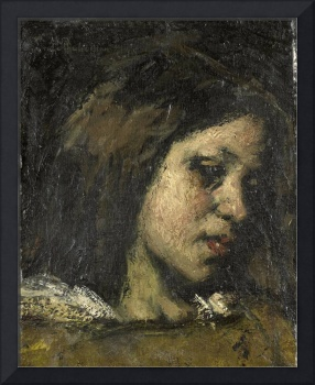 Portrait of a Young Woman, Suze Robertson, 1875 -