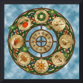 Celtic Wheel of the Year
