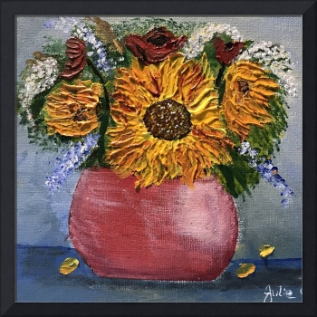 Sunflowers by Julie Crisan