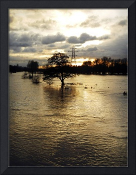 The Trent Washlands in Full Flood (35079-RDA)