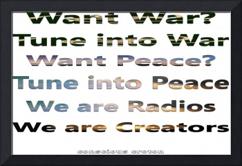 Tune out of War