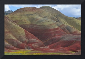 Contours of Painted Hills