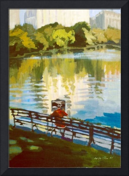 Painter's Reflection