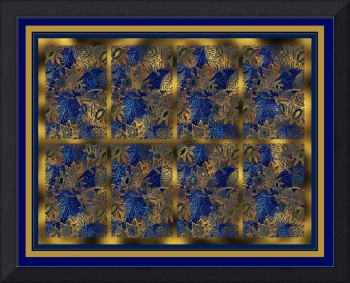 Blue Willow Panel 4