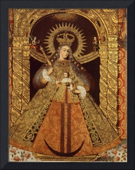 Bolivia~Virgin of the Victory of Malaga