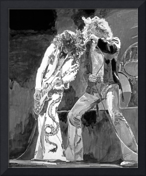 Led Zeppelin the Gods of Rock