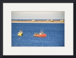 Chatham, Cape Cod North Beach and Fishing Boats by Christopher Seufert
