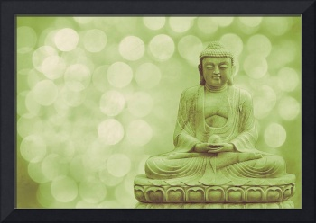 Buddha - the light (green)