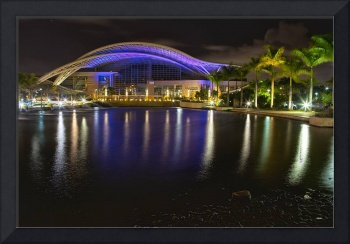 Puerto Rico Convention Center at Night