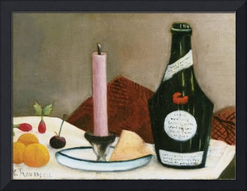 Henri Rousseau~The Pink Candle