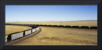 Coal Trains WY
