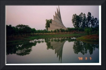 refreshed - martyr's monument, Bangladesh