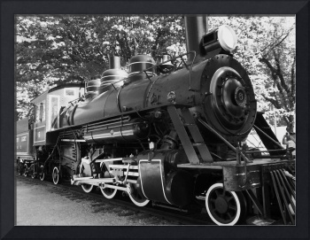 Train - Black And White Photography