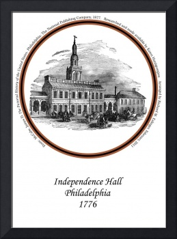 Independence Hall In 1776