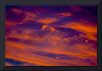 Sunset Cloud Detail