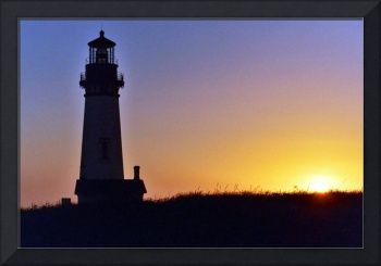 Yaquima Head Lighthouse Sunset