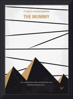 No642 My The Mummy minimal movie poster