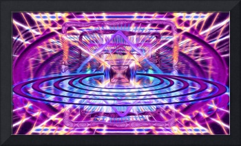 Rave Vision Synesthesia - Psychedelic Geometric Ar