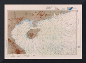 Nautical Chart of Northern South China Sea (1967)