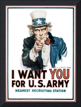 James Montgomery Flagg I Want You For U.S. Army