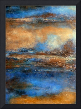 abstract landscape painting, holly anderson SKYRIM