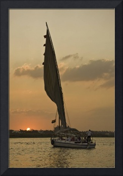 Cruising the Nile of Egypt