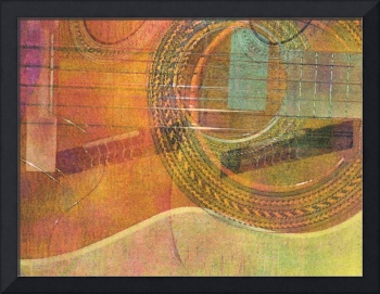 Guitar Abstract 3
